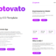 Cryptovato – Cryptocurrency Template
