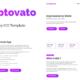 Cryptovato – Cryptocurrency Template